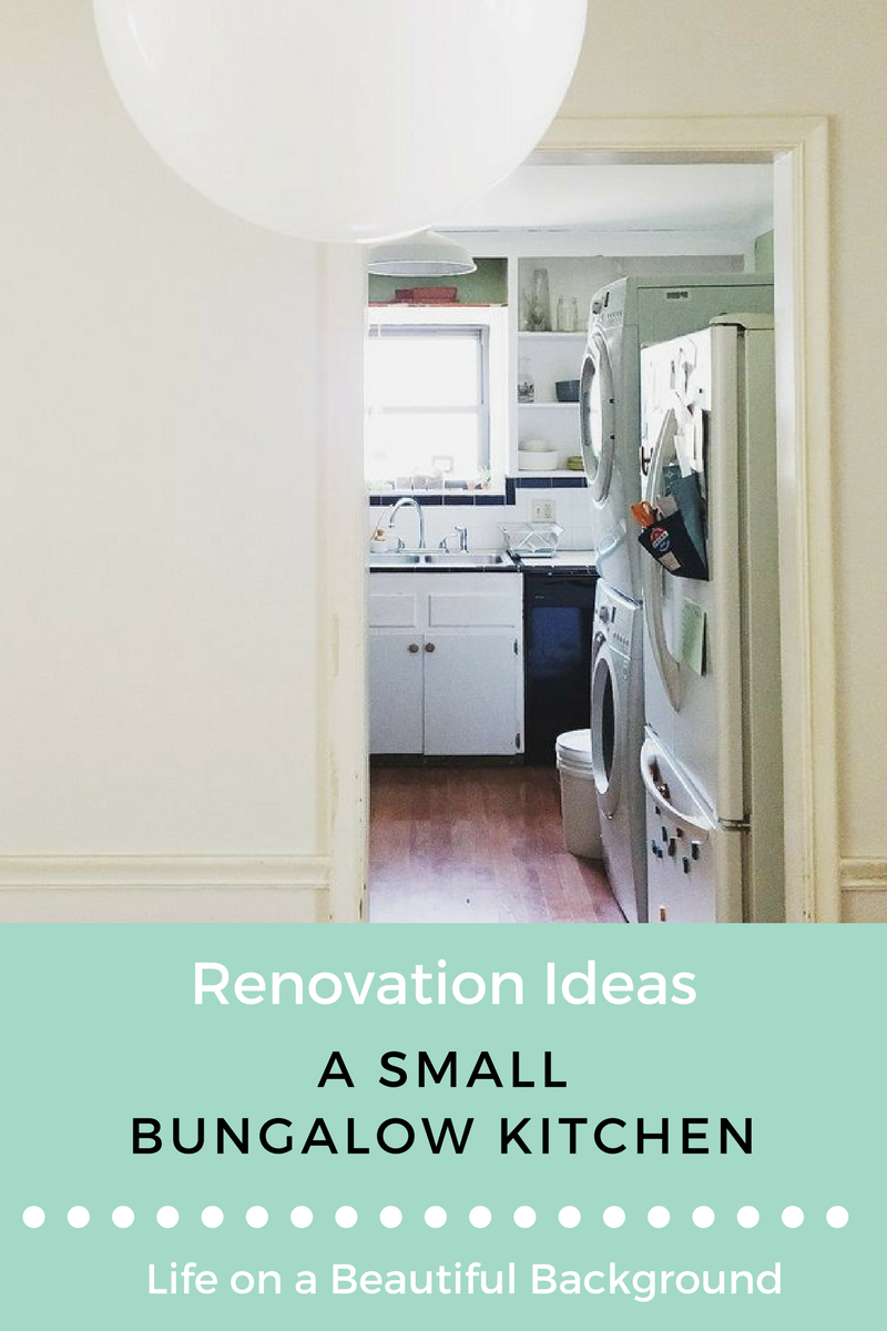 small kitchen renovation