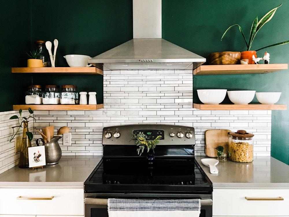 MCM kitchen remodel
