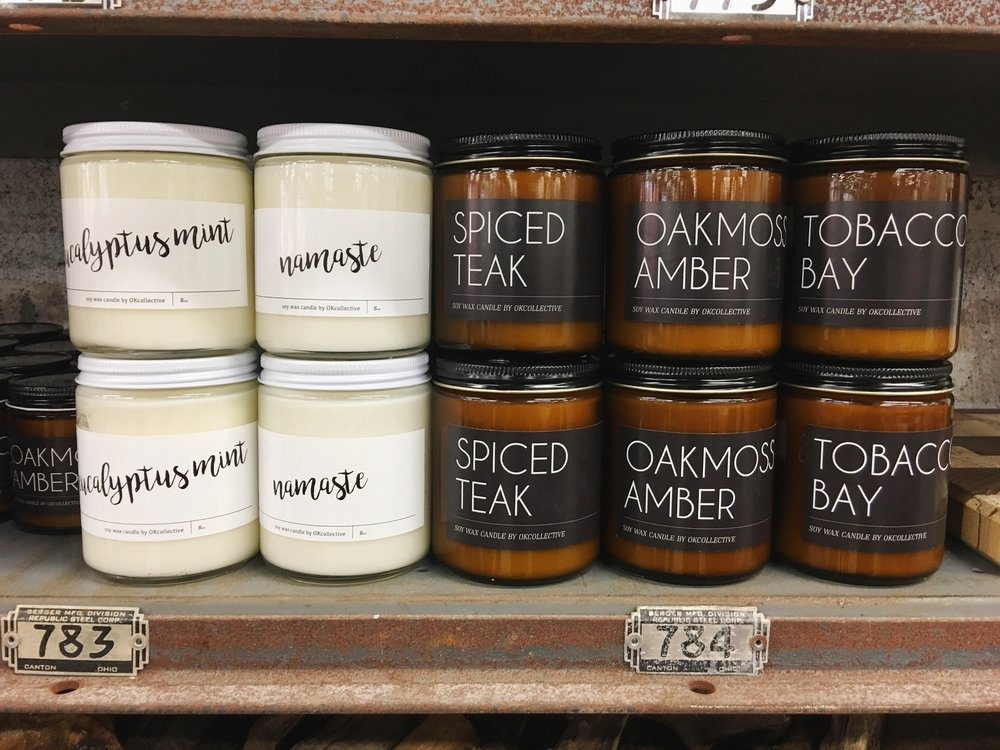 ok collective soy candles