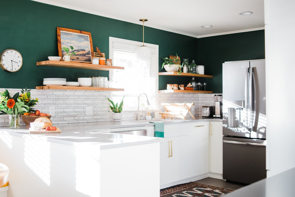 Design Sponge - Before & After: Form Meets Function in a Tulsa Kitchen Makeover