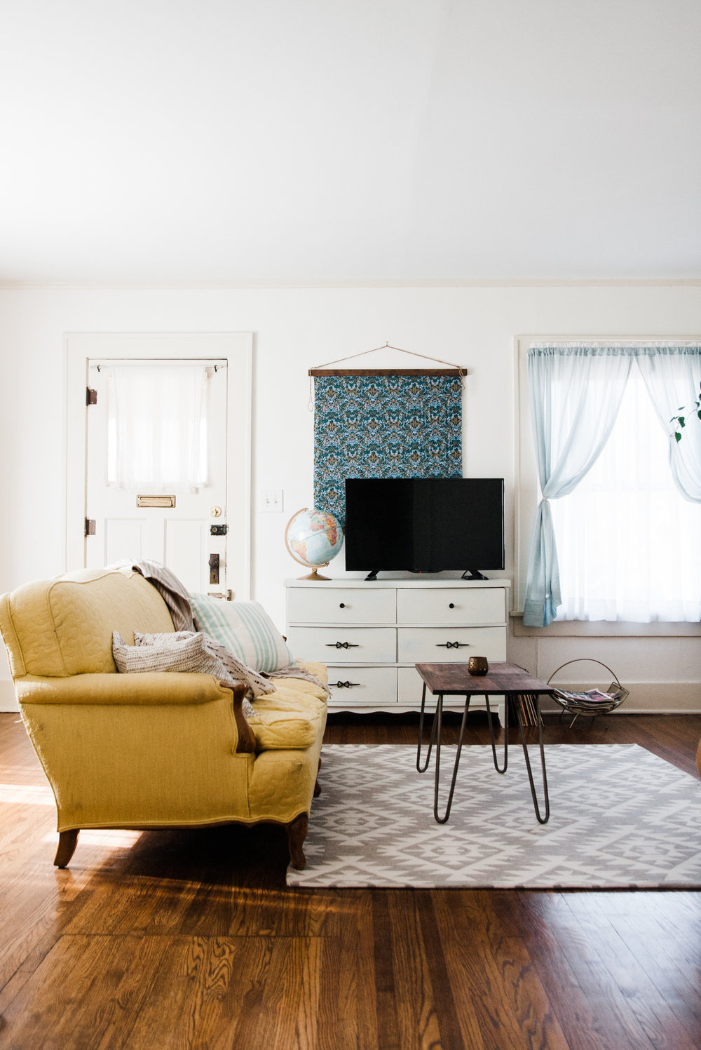 charming eclectic modern homejpg Home Tour A Charming Eclectic Modern