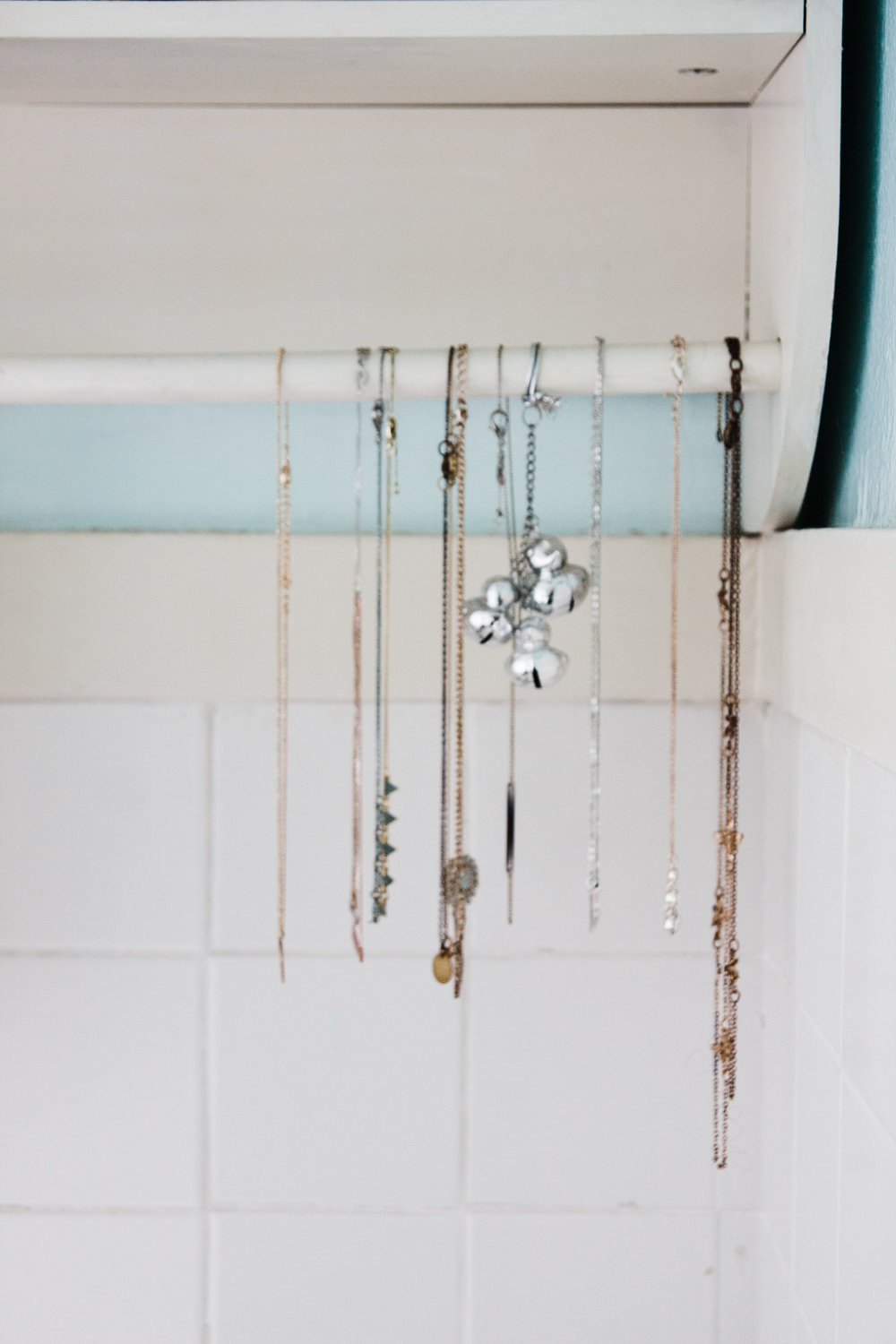 We love the way Emily stores her jewelry.