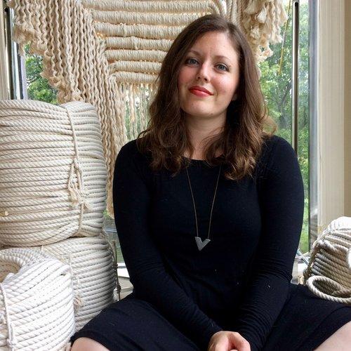 Fiber Arts Workshops! - Fiber artist Tasha Ball teaches macrame, weaving, fabric dyeing workshops and more!
