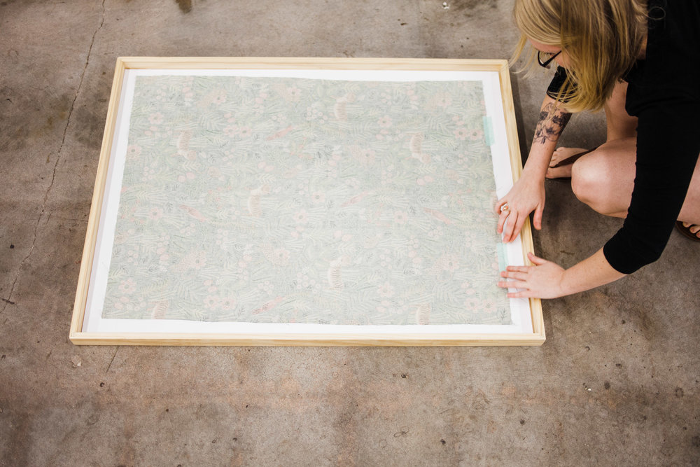 how-to-frame-fabric