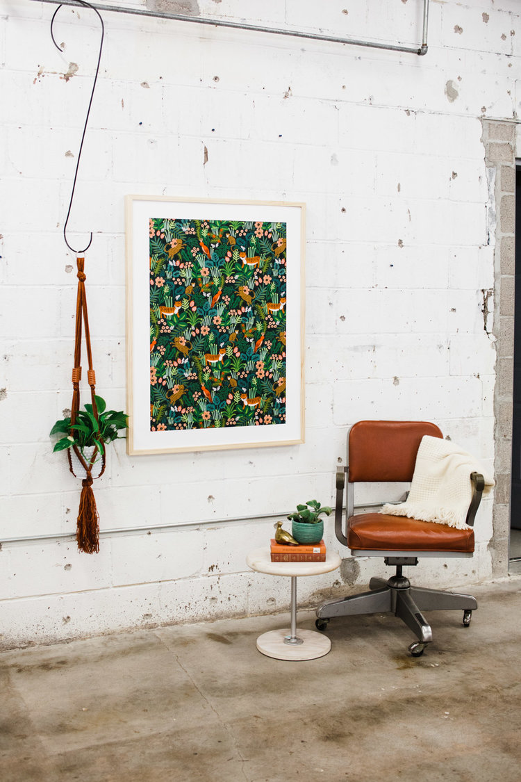 How to Frame Fabric for Artwork in Your Home — Retro Den