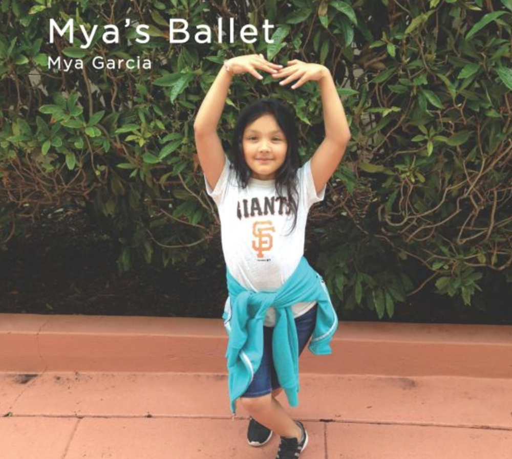 Mya's Ballet   Join Mya as she twirls and leaps her way through a ballet lesson. You may even learn some French!   Buy this book.
