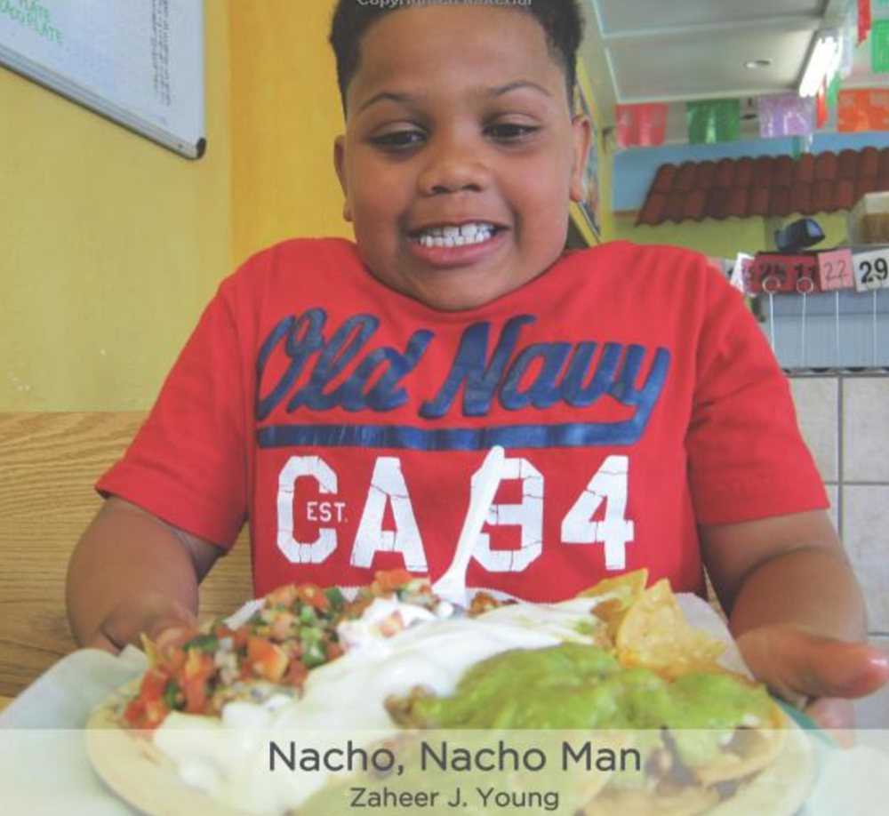 Nacho, Nacho Man Join Zaheer J Young as he introduces the reader to his favorite food - nachos! Buy this book.