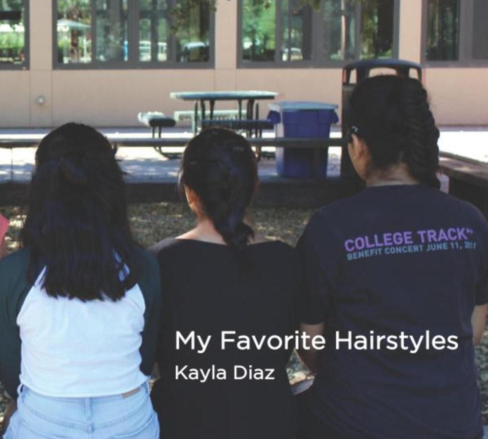 My Favorite Hairstyles   This is a great book for learning how to do amazing braids.   Buy this book.