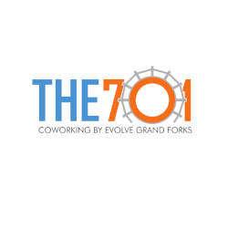 The 701 Coworking   the-701.com   33 South 3rd St Suite D Grand Forks, ND 58201   Email   info@evolvegf.com   Twitter   @701Coworking   The 701 Coworking by Evolve Grand Forks is designed for entrepreneurs, small business owners, freelancers, remote employees, nonprofit professionals, and anyone with a dream to pursue or a job to do. Located in the heart of downtown Grand Forks, The 701 Coworking is where productivity and creativity co-mingle.