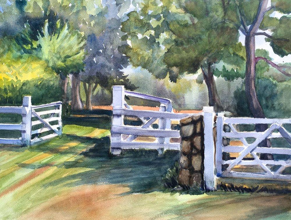 To the Grass Rides-Appleton Farm