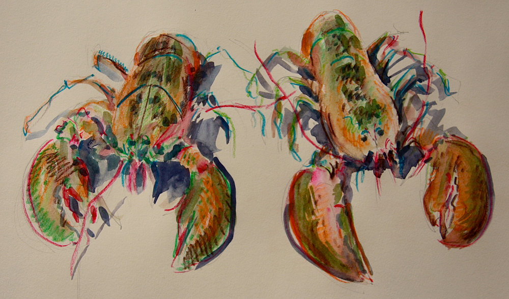 A Pair of Lobsters