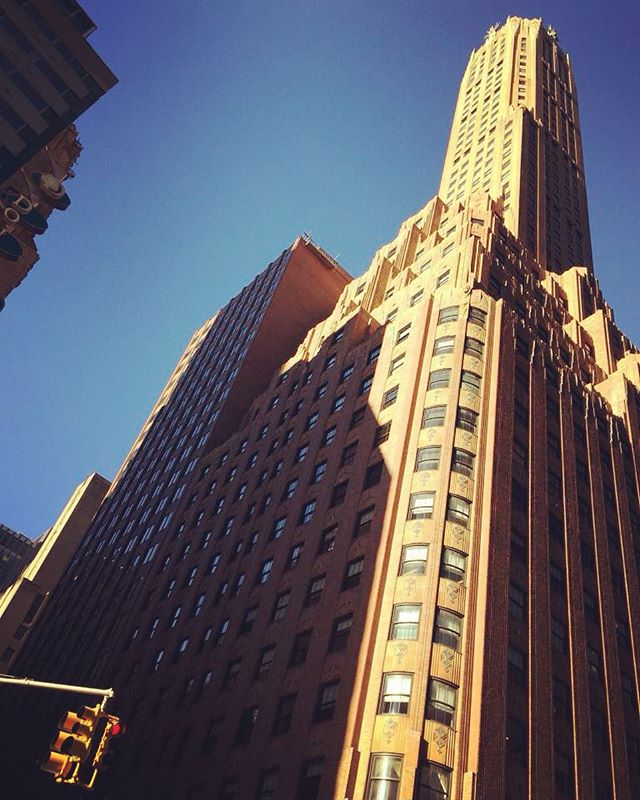 #SACCNY offices looking good this fall like Tuesday 🍁🍂🌰 have a great day, NYC! #tuesdaymotivation #nyc #feelgoodtuesday #skyscraper #instagood #picoftheday