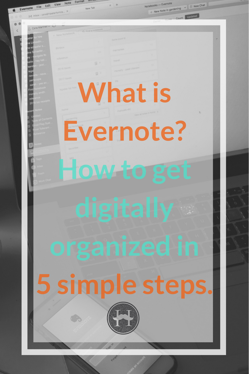 What is Evernote how to get digitally organized