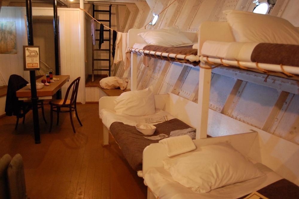 Ticonderoga crew quarters.
