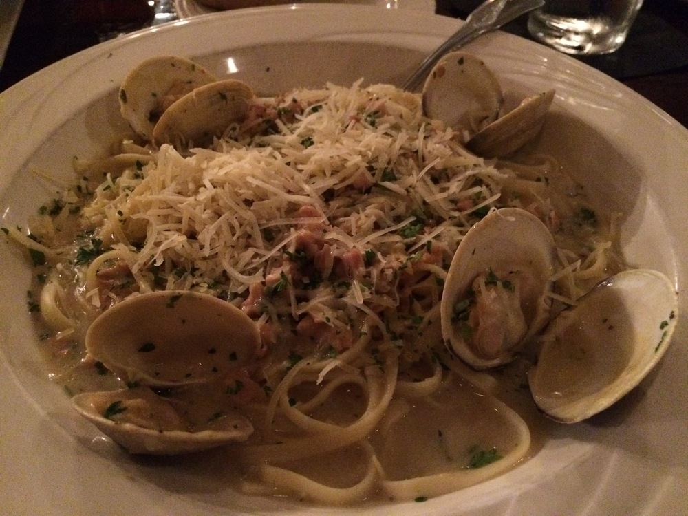 If there's Linguine alle Vongole on the menu, I will order it. And this dish was delicious. Worth ordering again!