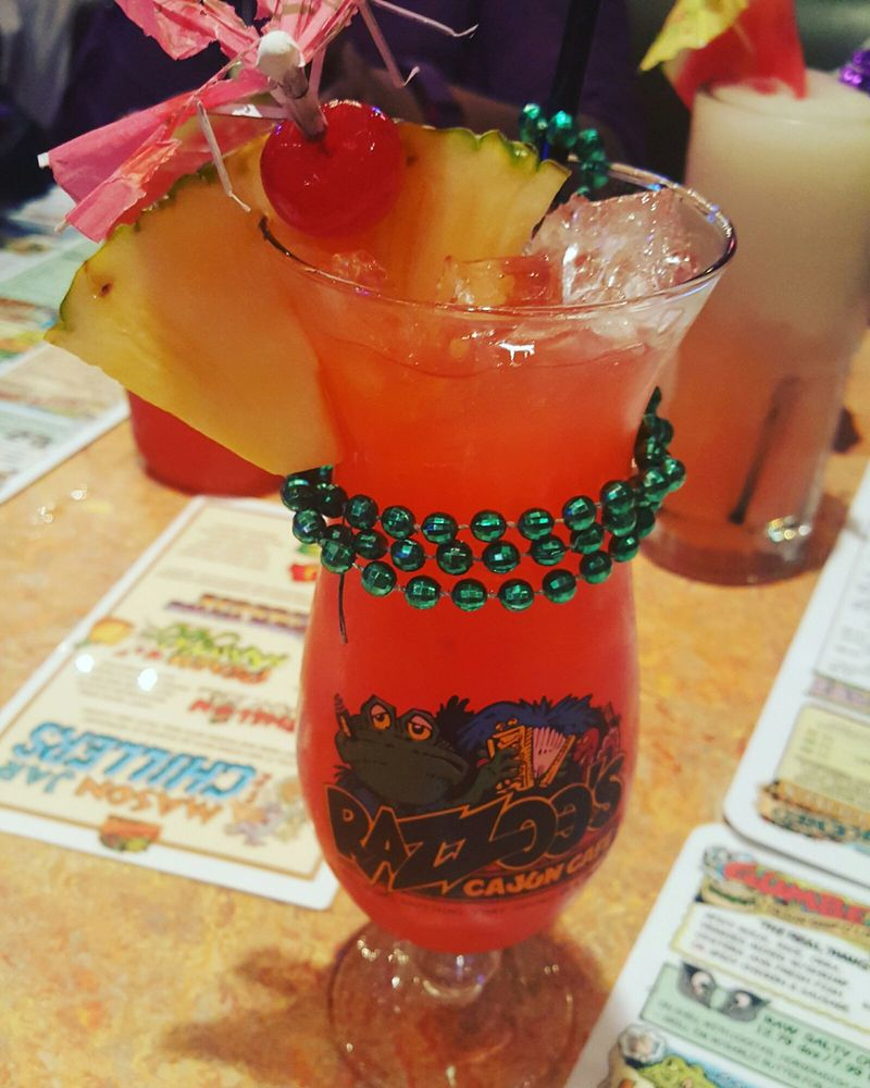razzoo's hurricane cocktail texas