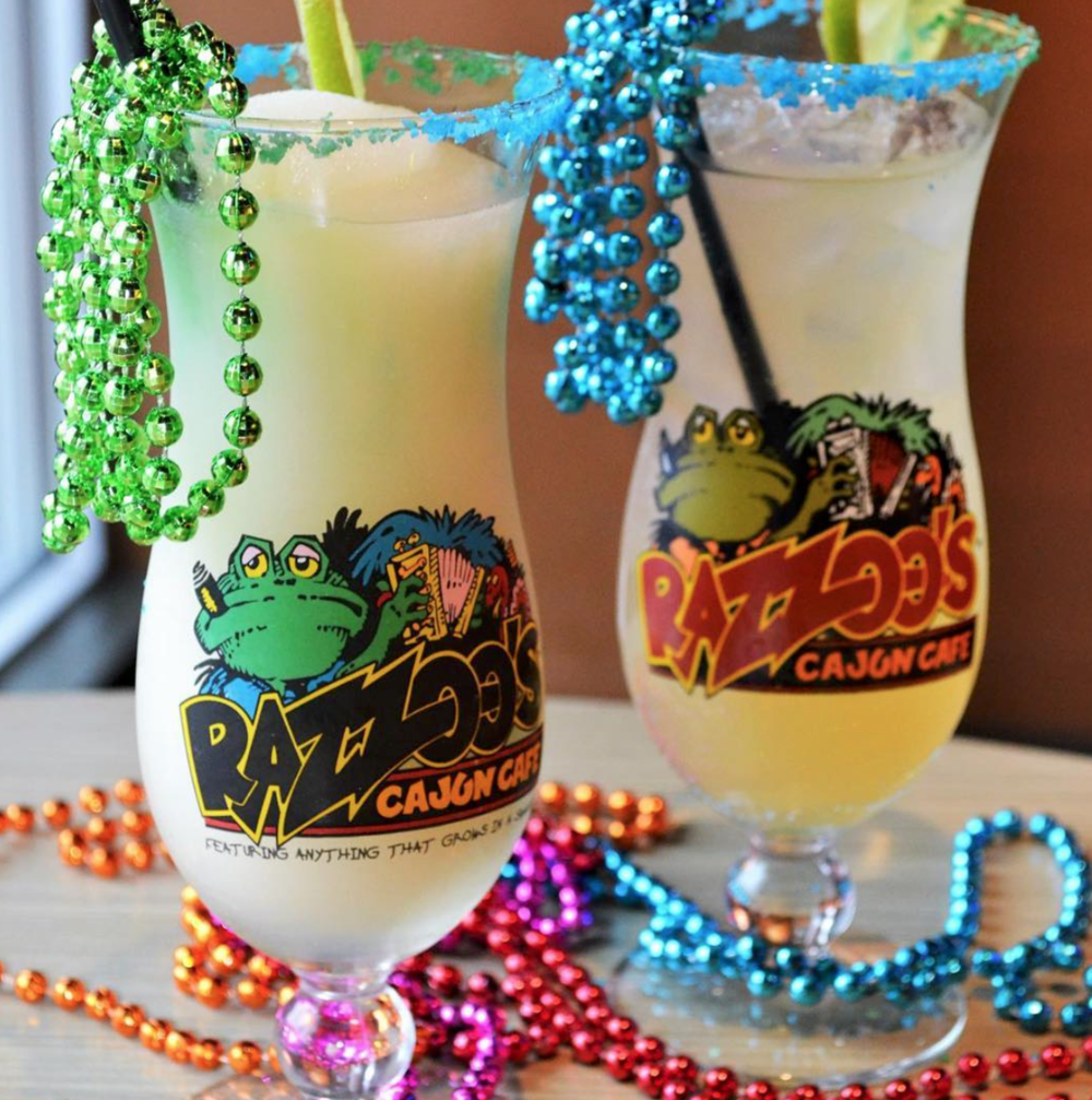 national margarita day razzoo's cajun cafe