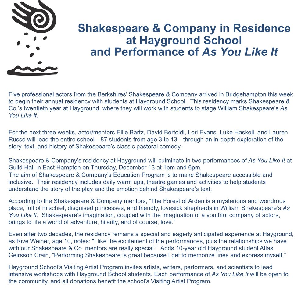 HG PRESS RELEASE SHAKESPEARE 2018 copy.jpg