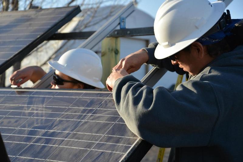 Green Job Training — Lakota Solar Enterprises