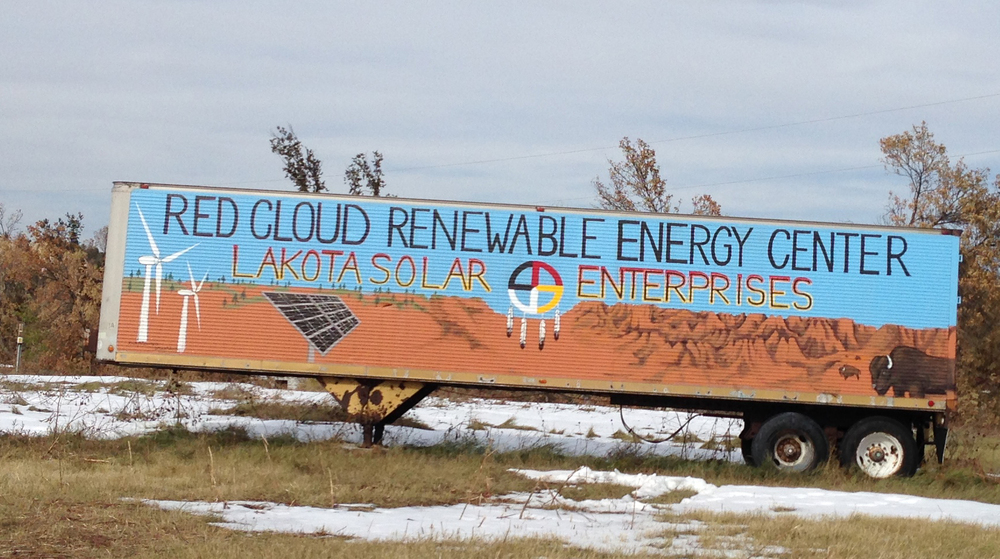Red Cloud Renewable Energy Center entrance