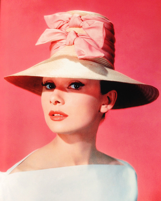 Audrey Hepburn in  Funny Face  / Photo by Bud Fraker
