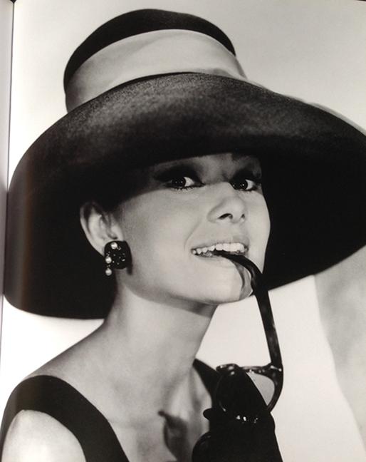 Hepburn in  Breakfast at Tiffany's  / Photo by Bud Fraker