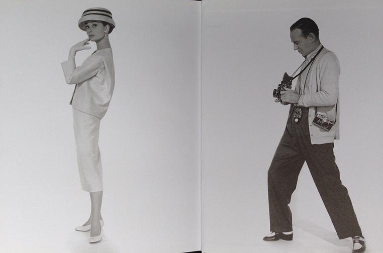 Hepburn in  Funny Face  / Photo by Bud Fraker