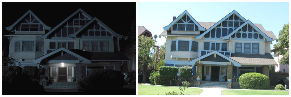 9)  Insidious (2010) : While not from a classic horror film, Insidious is one of the few recent horror movies that used a real house rather than just a Hollywood backlot. Set in Victoria Park of Los Angeles, the 1909 home has 4 bedrooms, 2 bathrooms and likely no possessed children. There is no recent data on the sale of this home, last selling for $275k in 1994, but  Zillow estimates its value currently at $1.2M .