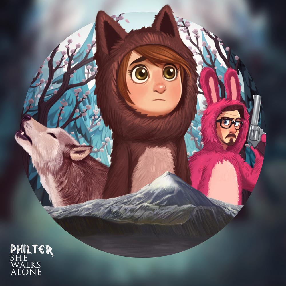 Philter - She Walks Alone (Front).jpg
