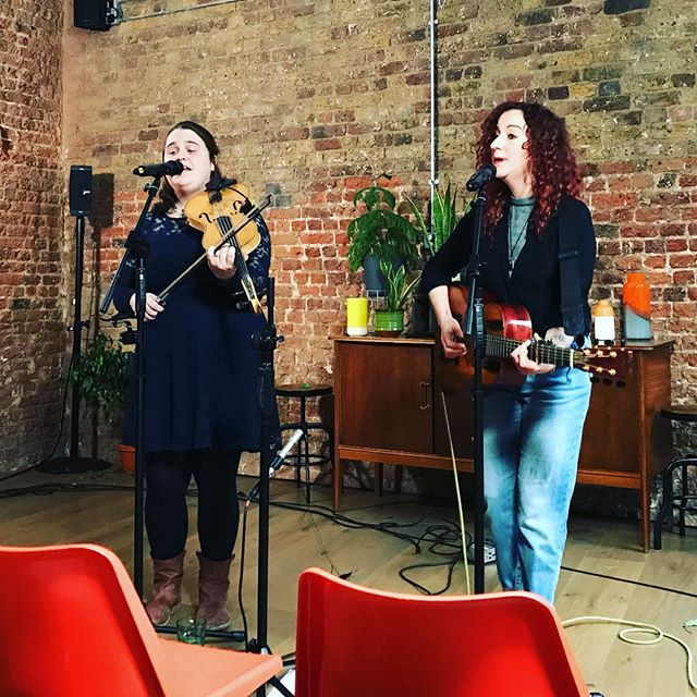 An amazing pre-Christmas set from Jackie Oates and @meganhenwood – my office is so awesome!
