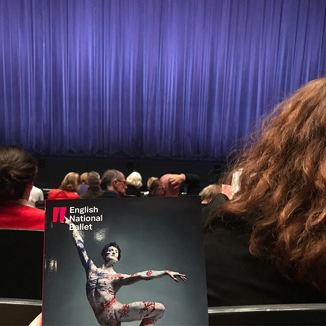 At @englishnationalballet #VoicesofAmerica this evening. First two pieces, not really my thing; but third piece great and fourth piece... wooooow. Totally unexpected! Most amazingly gay thing I've ever witnessed on a Friday night. Definitely worth going to see if you're at a loose end tomorrow and there are tickets still available #ballet #dance #London #ENB