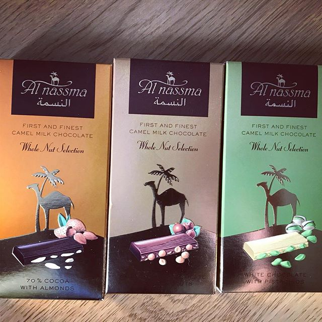 Camel-milk chocolate 🍫🐪 #UAE #Dubai