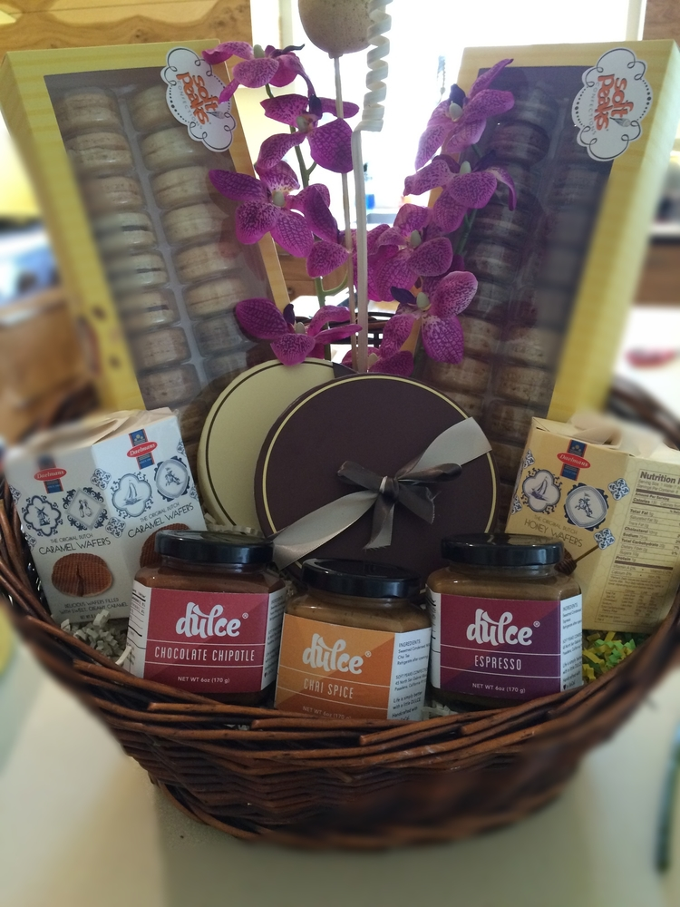 Gift baskets soft peaks confections french macarons los angelse jpg img1986g negle Gallery