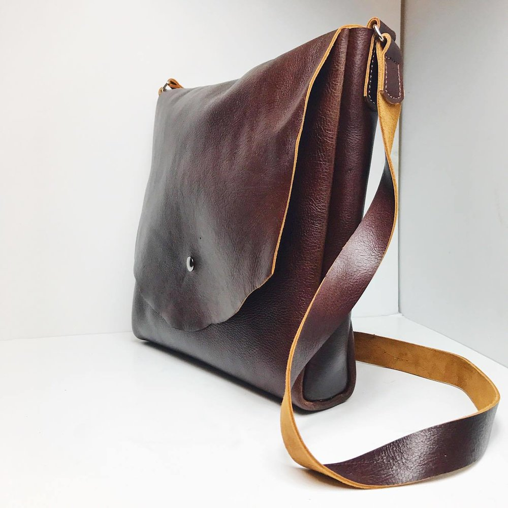 Toasted Flan Messenger Bag