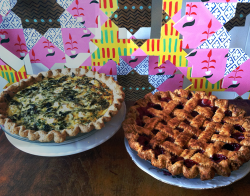 Easter Quiche & Pie