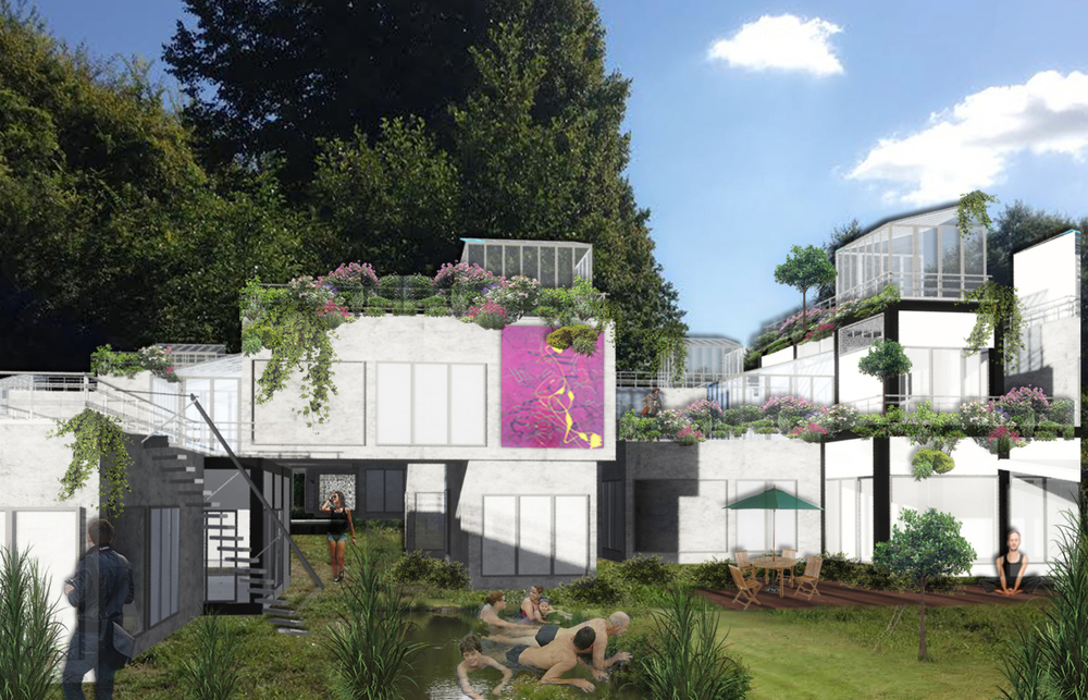 Design Niels Peter Flint - 3D rendering Rosanna Romana