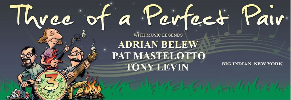 Tony Levin, Adrian Belew, Pat Mastelotto, Markus Reuter and Special Guests