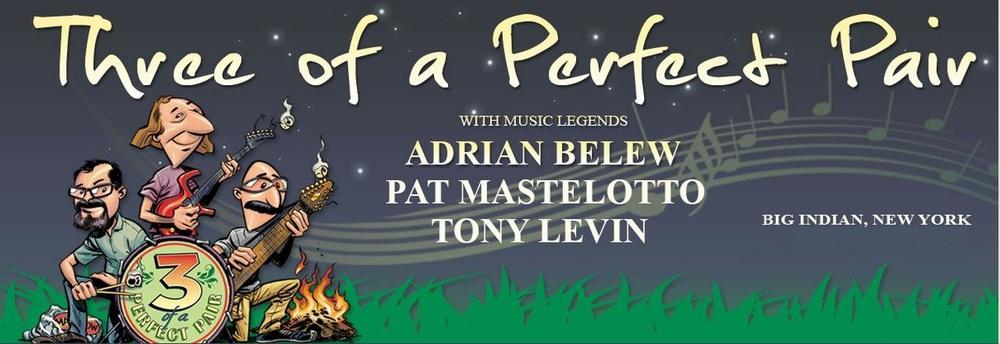 Adrian Belew, Tony Levin, Pat Mastelotto & Special Guests