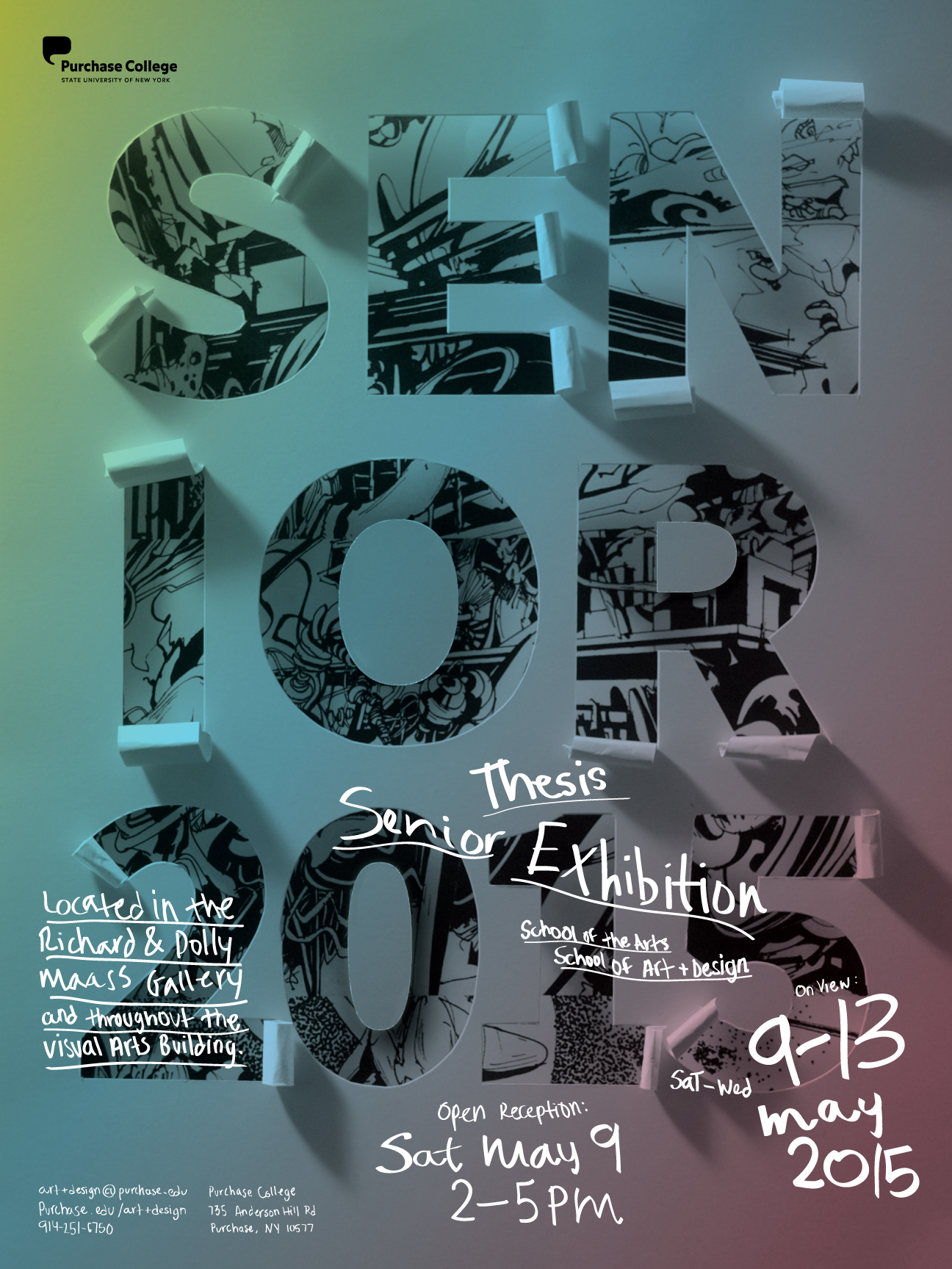 SENIOR THESIS EXHIBITION     SAM GRAAP   VISUAL DESIGNER Facebook