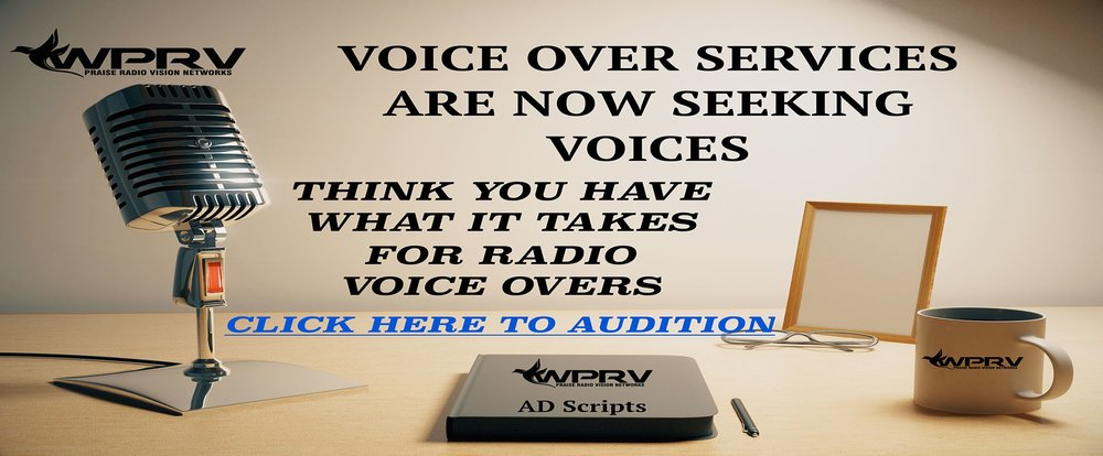 VOICE OVER AUDITION - CLICK BANNER TO AUDITION NOW