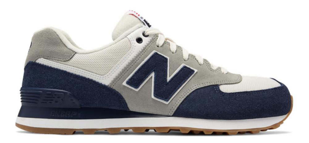 New Balance 547 Retro Navy/White $80