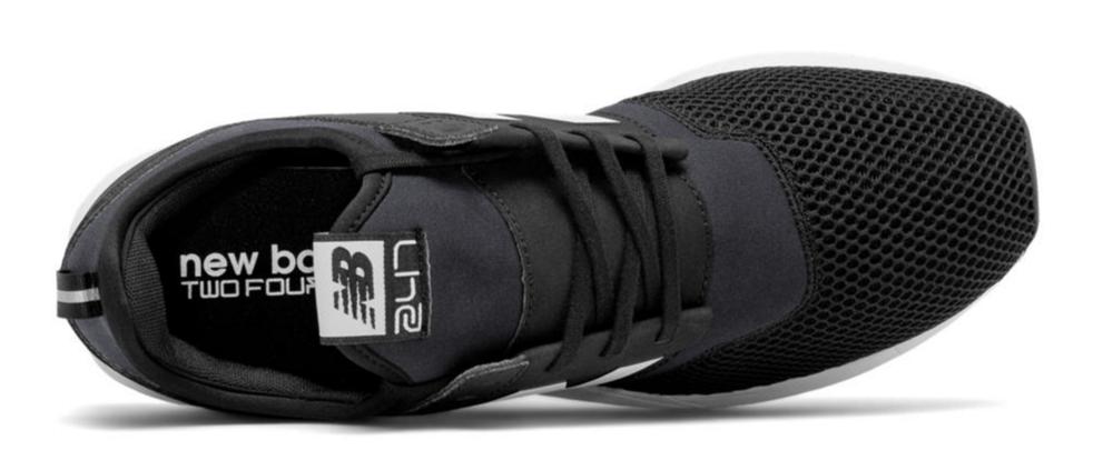 New Balance 247 Classic Black/White $80