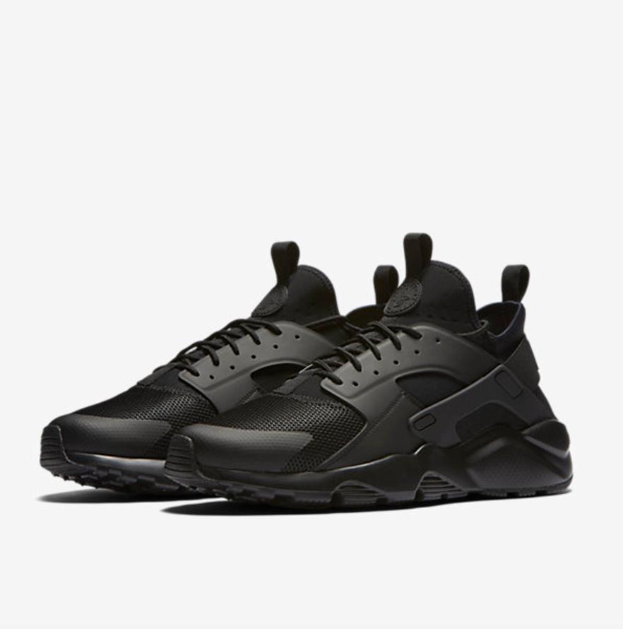 Nike Huarache Run Ultra All Black $120
