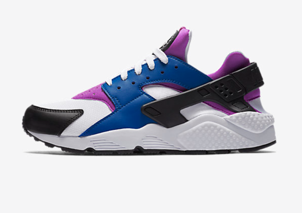 Nike Air Huarache Blue Jay/White/Hyper Violet $110