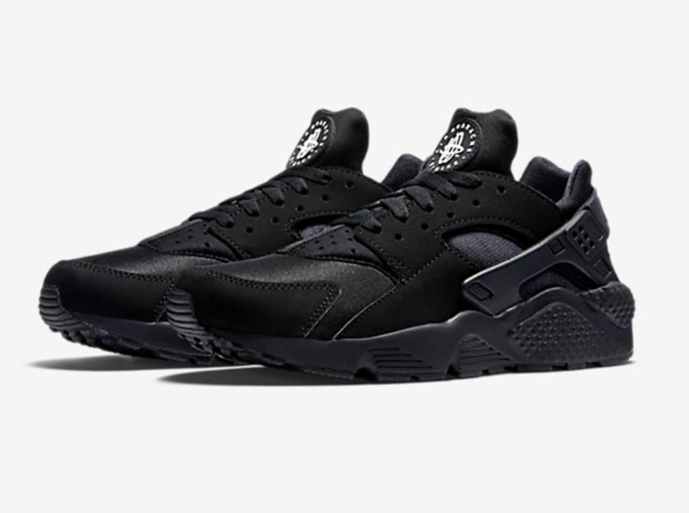 Nike Air Huarache Black/White $110