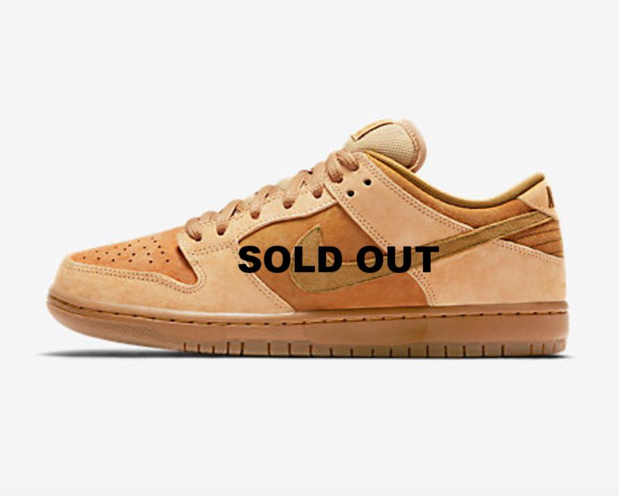Nike Dunk SB Wheats $100