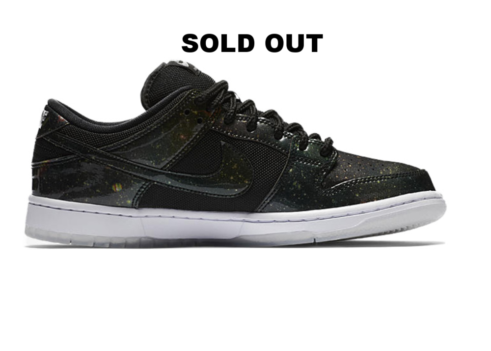 Nike SB Dunk Galaxy $100