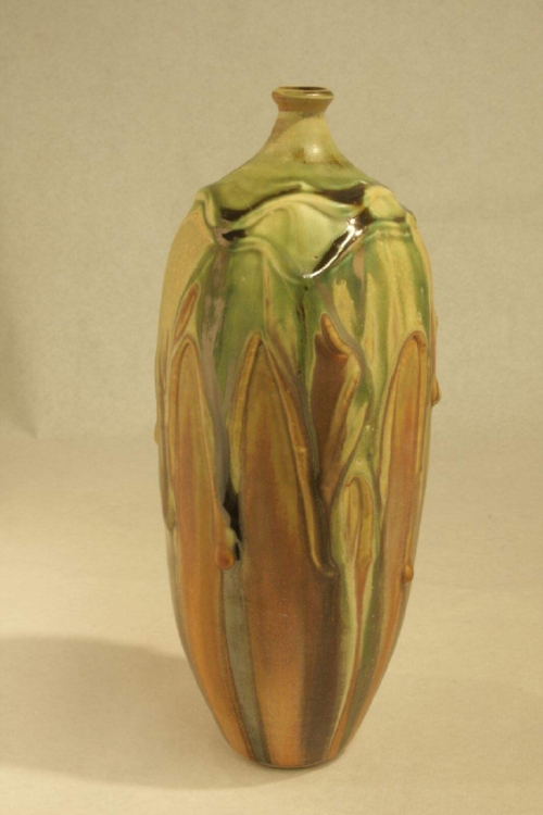 Vase by Carin Moore.  Photo by Brian Peshek.