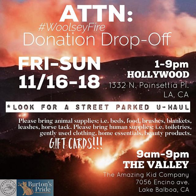 This weekend!!!!! Models of Compassion donations drop off in Hollywood, Friday-Sunday 1-9pm!!! For specific up to date lists on what to bring, please send a DM!!! Thank you!