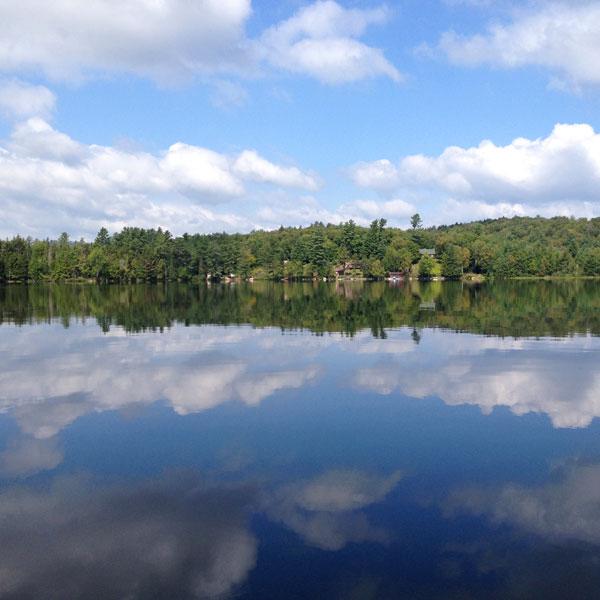 Canoe Trip on Lake Clear